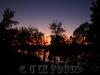 Lake Wylie at sunset