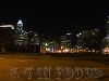 Charlotte at night