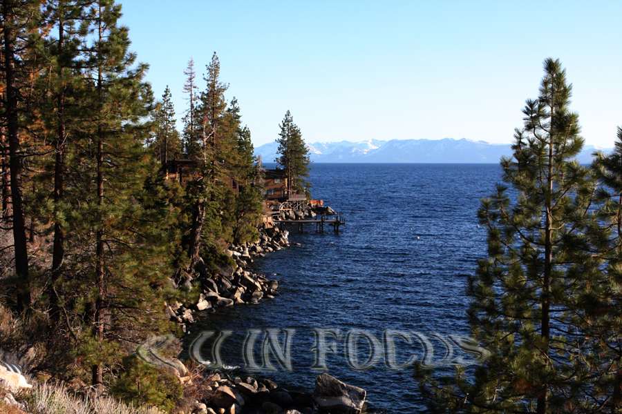 Lake Tahoe - outside Incline Village